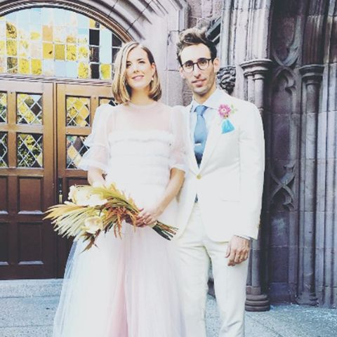 Most Stylish Weddings on Instagram: Agyness Deyn