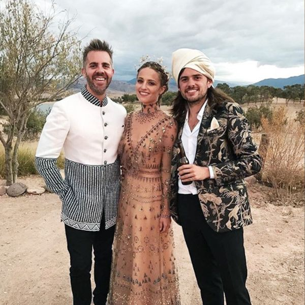 Most Stylish Weddings Instagram: Dianna Agron