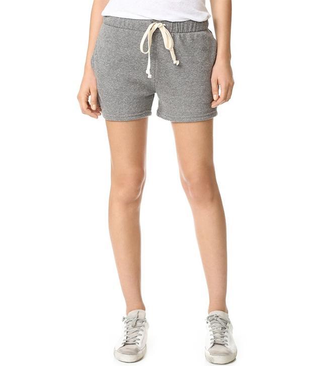 Current/Elliott Gathered Knit Shorts