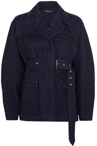 Pleyel Belted Denim Jacket