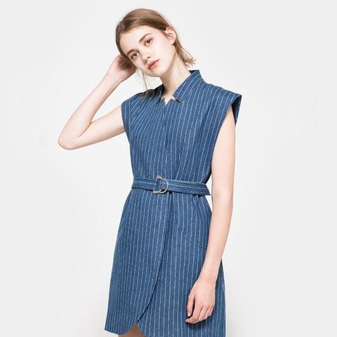 Stay Cool Pinstripe Dress