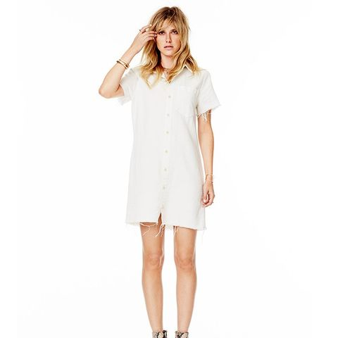 Frenchie Fray Dress