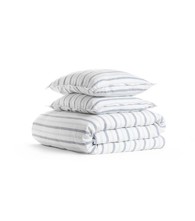 Parachute Linen Stripe Duvet Cover Set