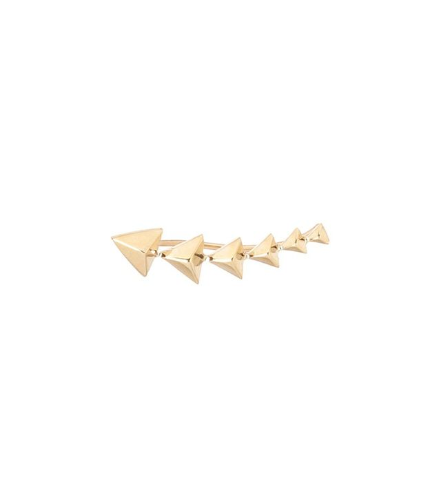 Zoe Chicco 14K Triangle Pyramid Ear Shield