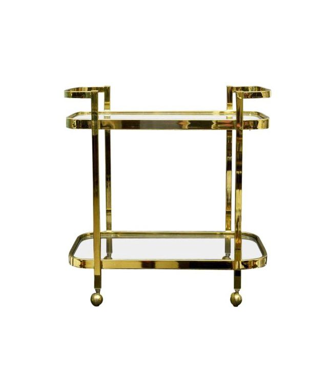 Chairish Hollywood Regency Bar Cart
