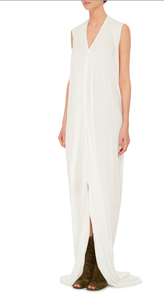 Rick Owens Silk Maxi Dress