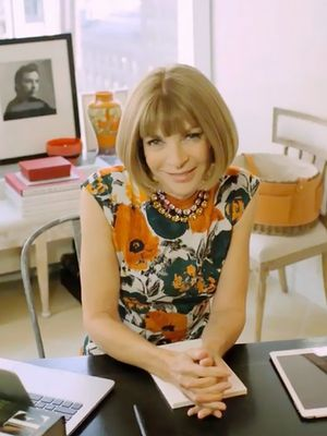 Tour Anna Wintour's Workspace—and Shop Her Chic Office Décor