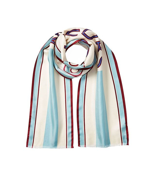 Marc Jacobs Printed Silk Scarf