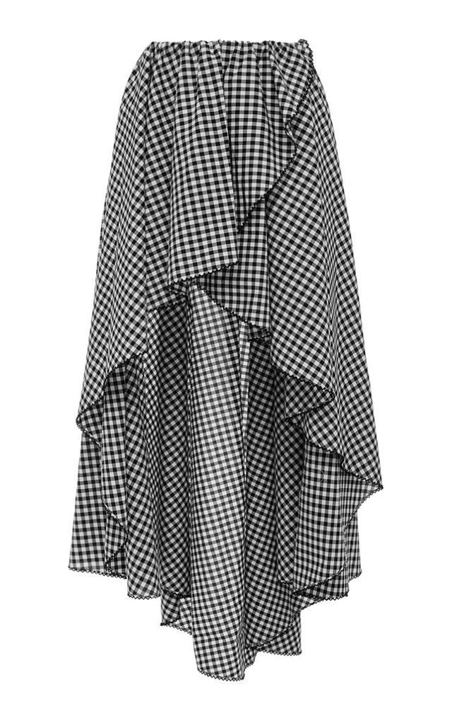 Caroline Constas Adelle Asymmetrical Wrap Skirt