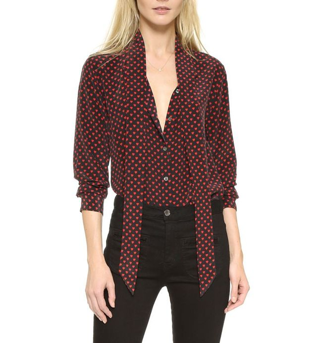 Equipment Kate Moss Signature Blouse