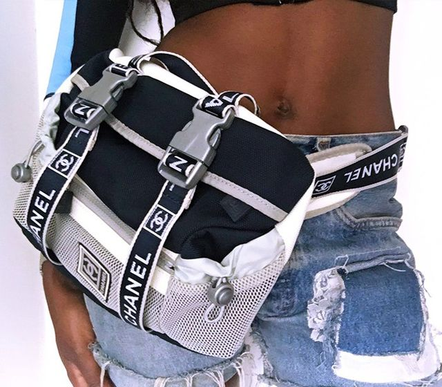For hands-free festival easeI opted for a vintage Chanelfanny pack to store my essentials! A small bumbag or side-bag will save you the hassle of lugging around a handbag—and...