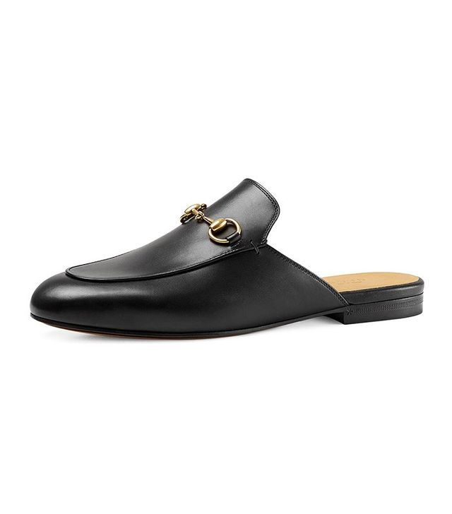 Gucci Princetown Leather Horsebit Mule