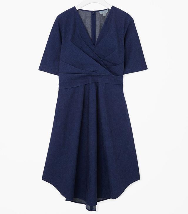 COS Cross-Over Drape Dress
