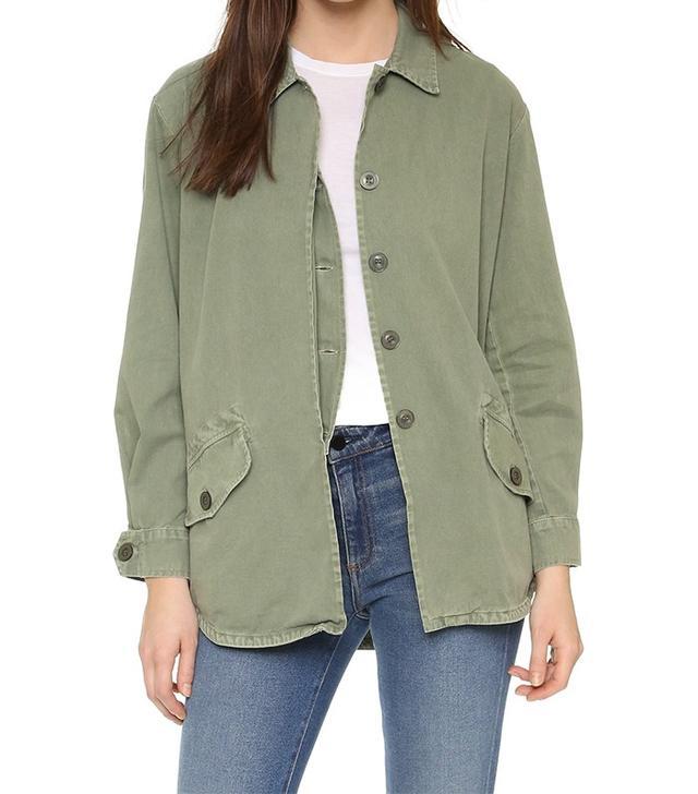 Monrow Vintage Army Jacket