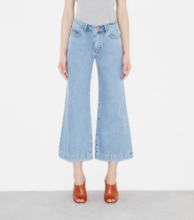 M.i.h Jeans Topanga Jean Wide Cropped Flare
