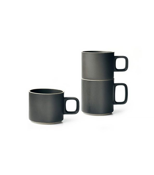 TRNK Black Japanese Porcelain Mugs