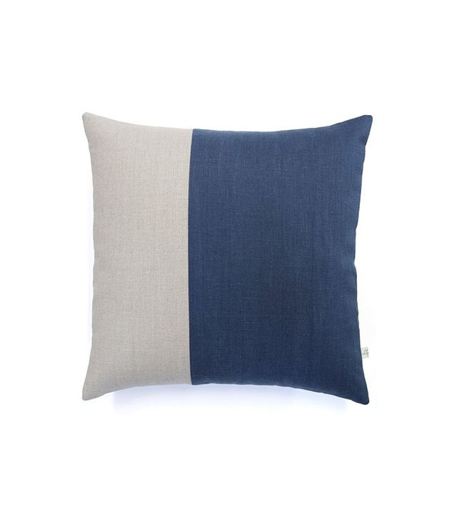 TRNK Linen Color Blocked Pillow