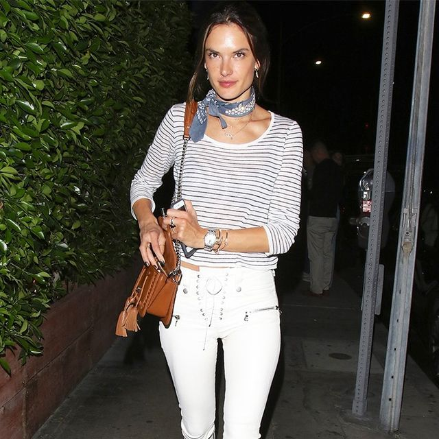 This Is the Most Amazing Pair of White Jeans We've Ever Seen