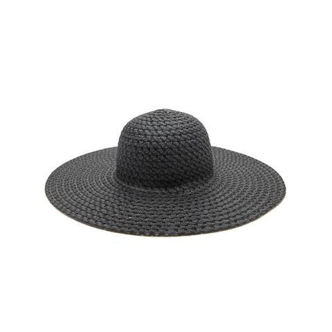 Wide Brim Floppy Straw Hat
