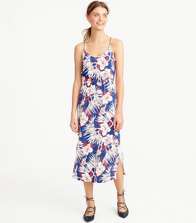 J.Crew Carrie Dress in Retro Floral