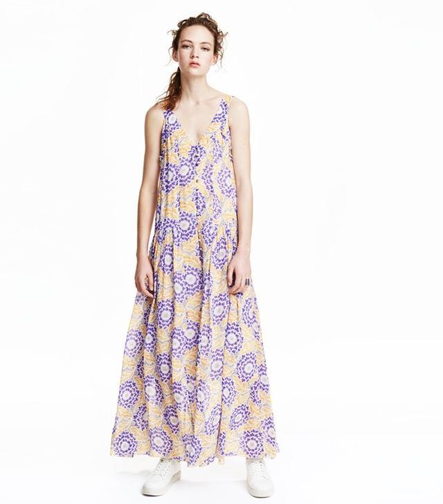 H&M Chiffon Maxi Dress