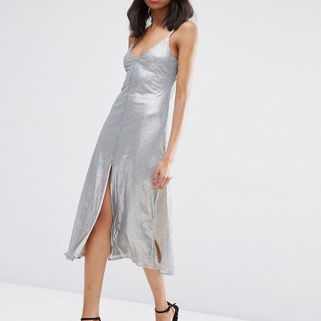 ASOS Night Embellished Cami Dress