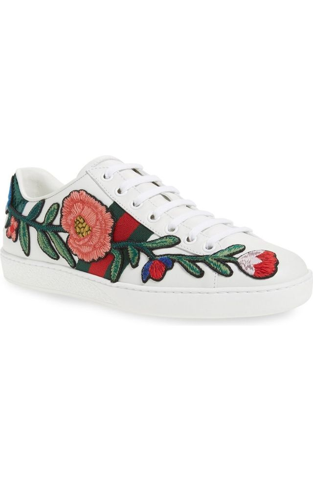 Gucci New Ace Low Top Sneakers