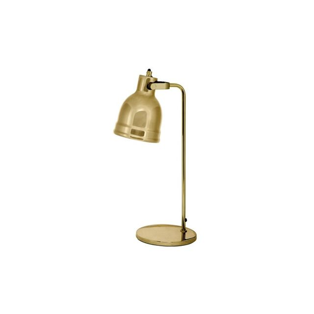 Freedom Hinged Table Lamp 50.5cm in Brass Colour