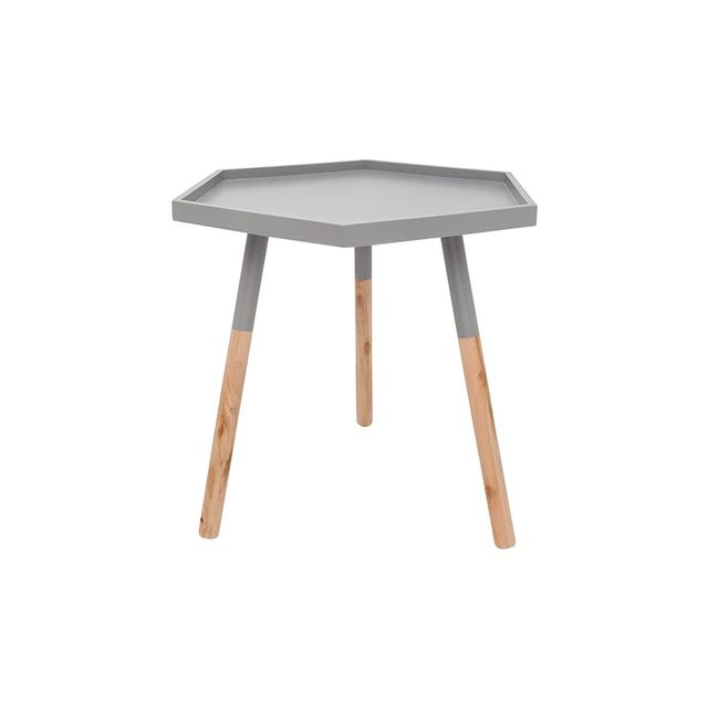 Design House Winter Luxe Hexagon Table