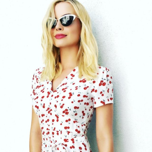 Margot Robbie Wears the One Dress Style That Suits Every Girl