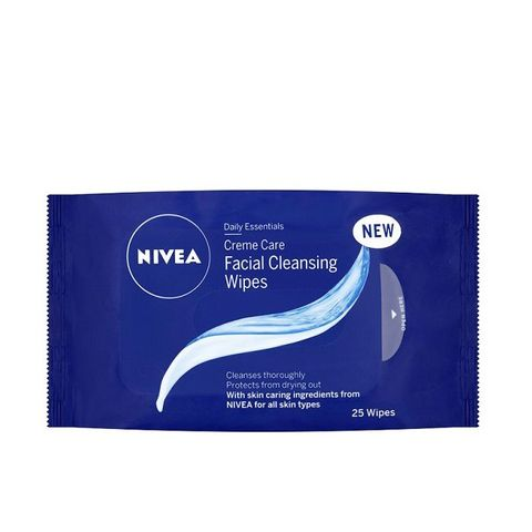 Daily Essentials Crème Care Facial Cleansing Wipes