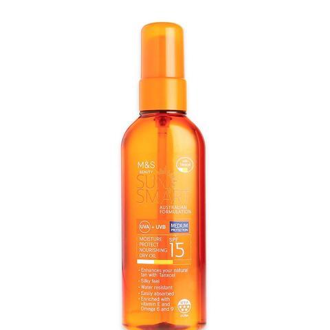Sun Smart Moisture Protect Nourishing Dry Oil SPF 15
