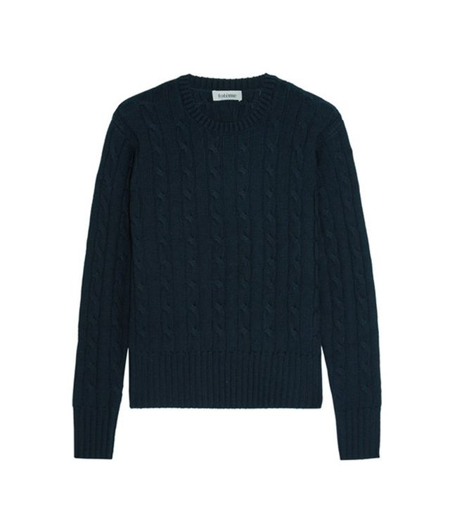 Totême Cable-knit Wool Sweater