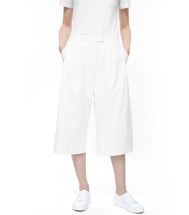 COS Rounded Wide-Leg Trousers