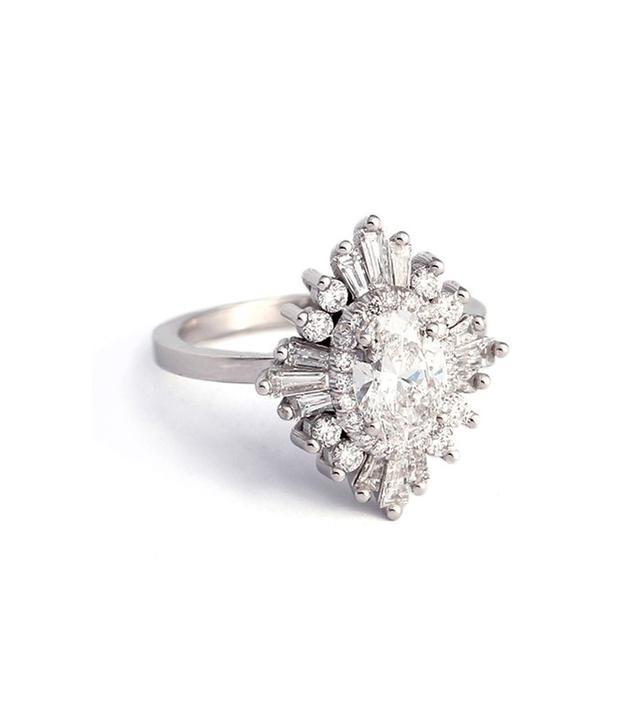 Heidi Gibson The Oval Gatsby Ring