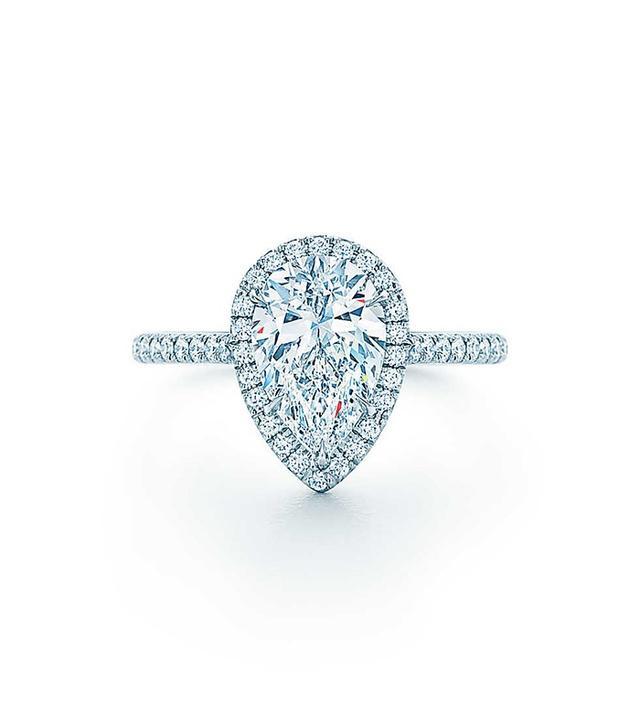 Tiffany's Soleste Pear Ring