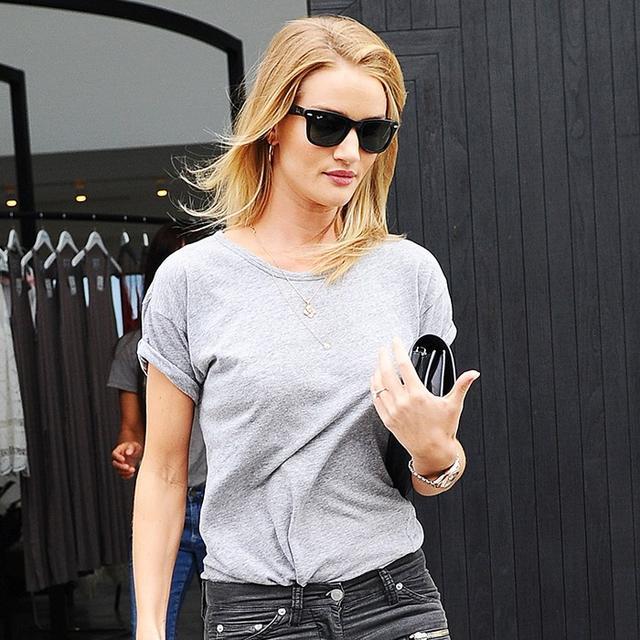 Rosie Huntington-Whiteley's New Skinny Jeans Feel So Right Now