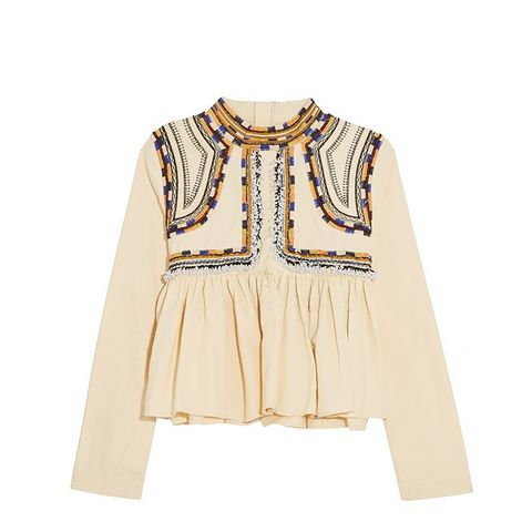 Sachi Embroidered Top