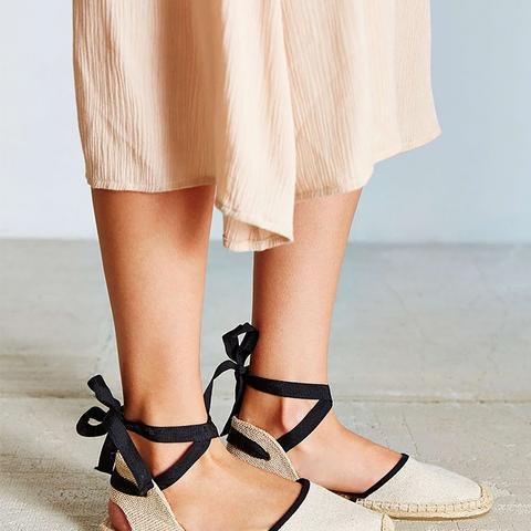 Canvas Espadrille Sandals