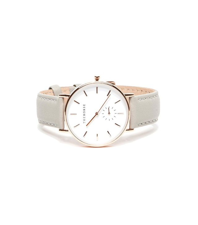 The Horse Classic Rose Gold & Grey Watch