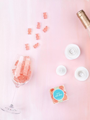 Everyone's Freaking Out About These Rosé-Infused Gummies