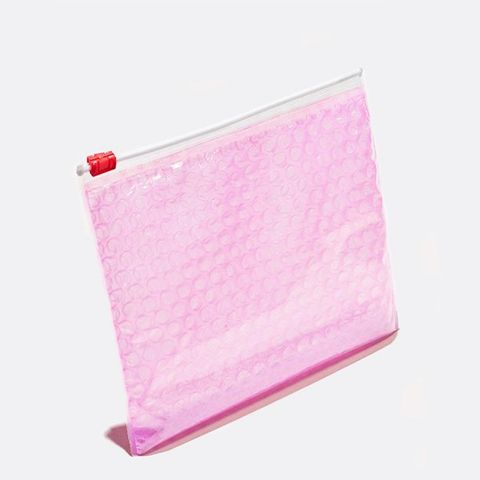 3 Pink Pouches