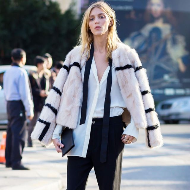What One Supermodel Wears in New York—but Wouldn't Dare Wear in Paris