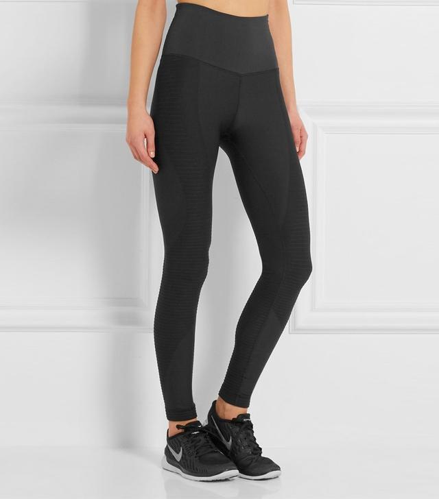 Nike Zoned Sculpt Dri-Fit Mesh-Paneled Stretch-Jersy Leggings