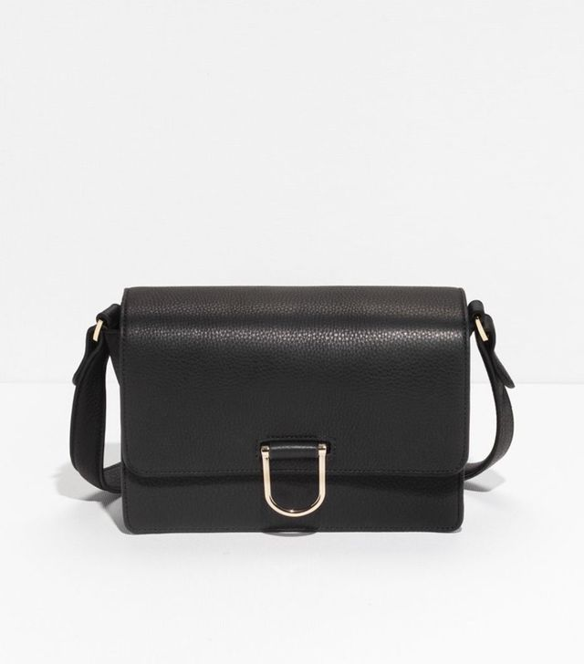 & Other Stories D-Ring Leather Shoulder Bag