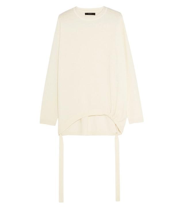 Ellery Smitten Drawstring Cashmere Sweater