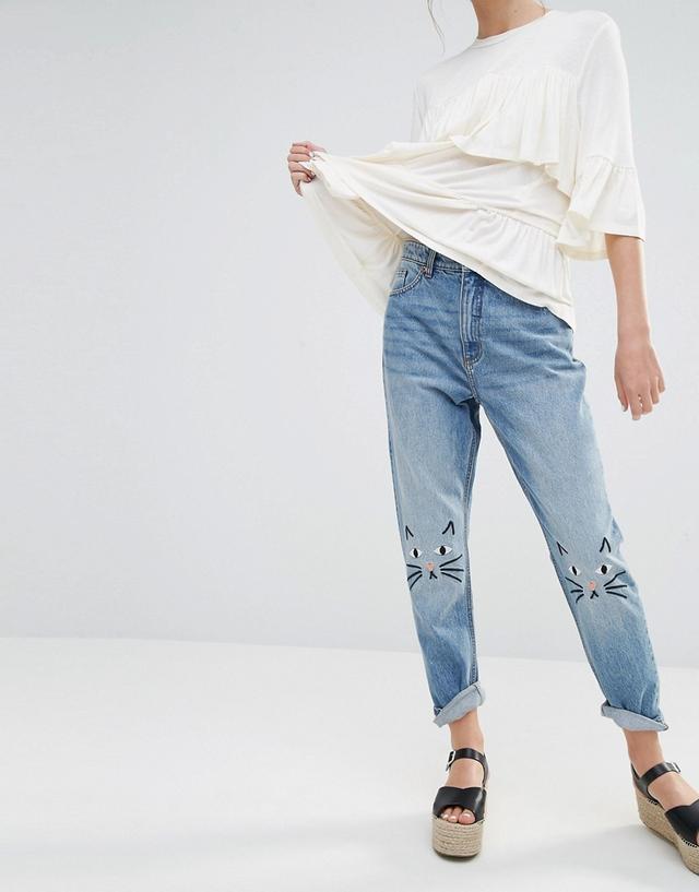Monki Kimono Love Jeans