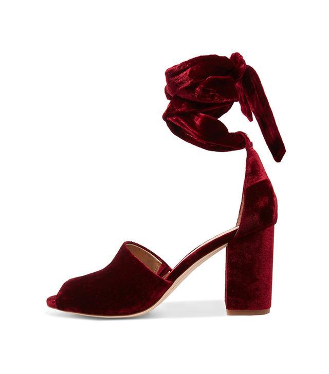 Odele Velvet Sandals