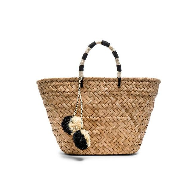 St Tropez Tote Bag in Beige.