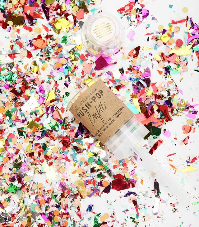 Urban Outfitters Thimblepress Colorful Push Pop Confetti